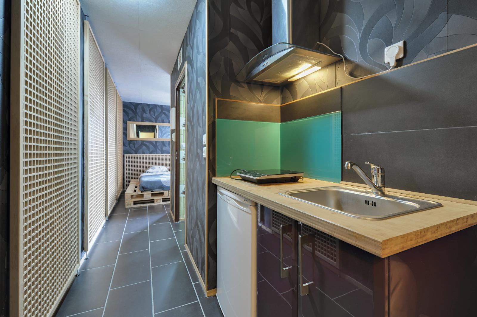 Appartement 1 pièces 19 m²