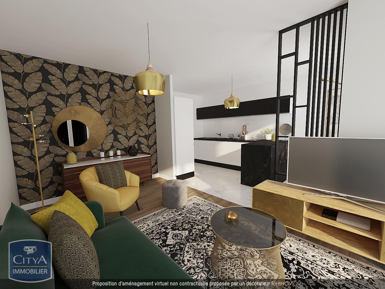 Appartement 1 pièces 37 m²